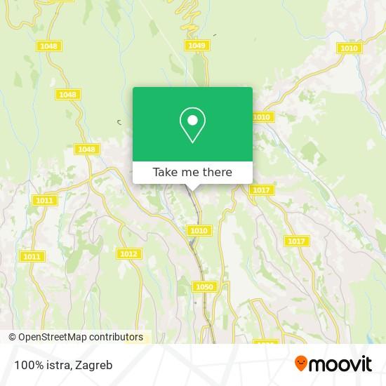 100% istra map