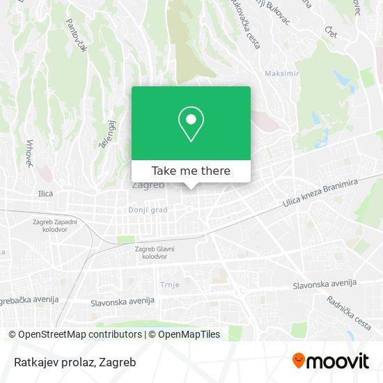 Ratkajev prolaz map