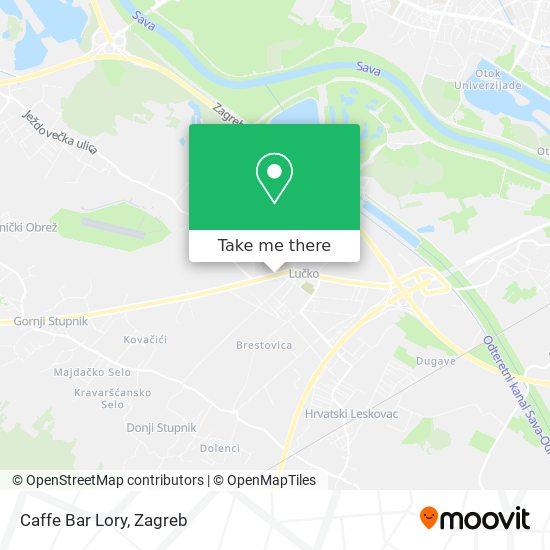 Caffe Bar Lory map