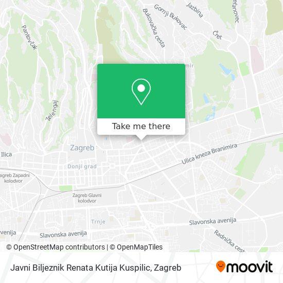 Javni Biljeznik Renata Kutija Kuspilic map