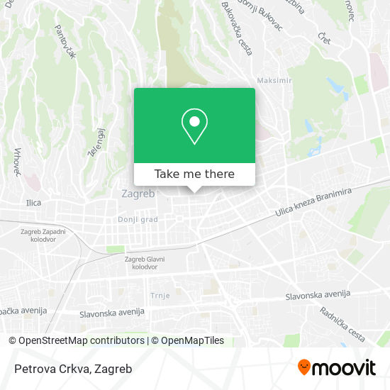 Petrova Crkva map