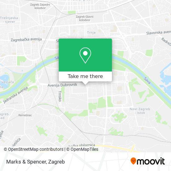 Marks & Spencer map