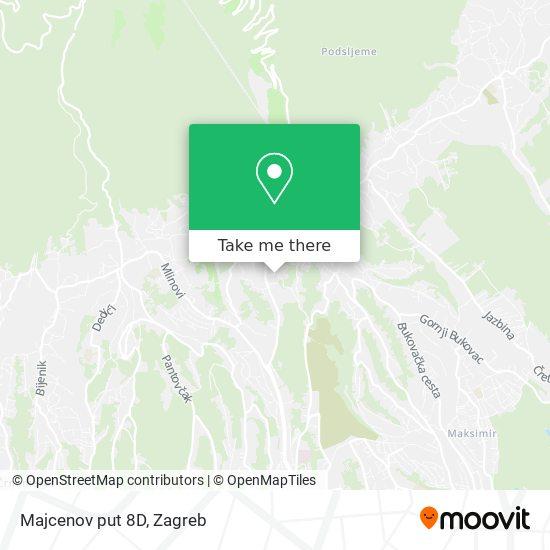 Majcenov put 8D map