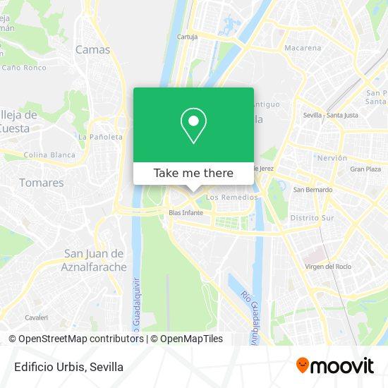 Wie Komme Ich Zu Edificio Urbis In Sevilla Mit Dem Bus Der Metro Oder Der Bahn Moovit