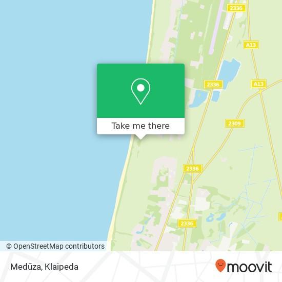 Medūza map