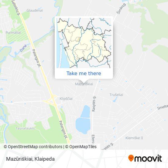 Mazūriškiai map