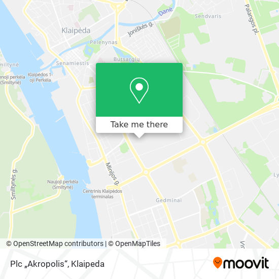 Akropolis map