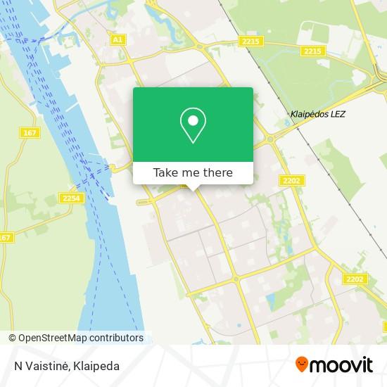 N Vaistinė map