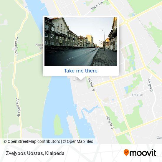 Žvejybos Uostas map
