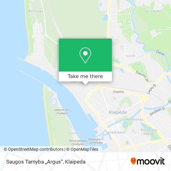 """Saugos Tarnyba """"Argus"""" map"""