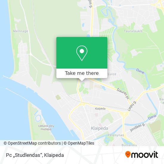 "Pc ""Studlendas"" map"
