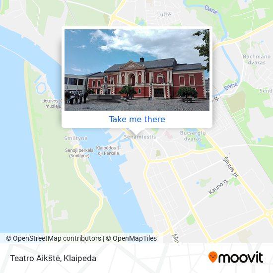 Teatro Aikštė map