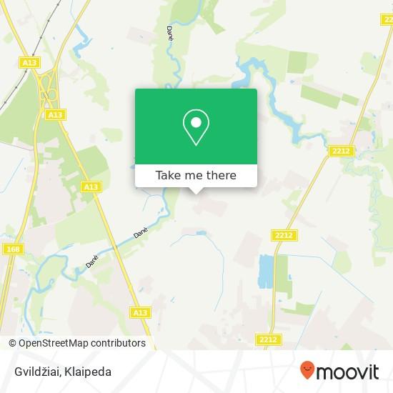Gvildžiai map