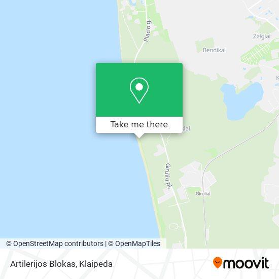 Memel Nord Battery map