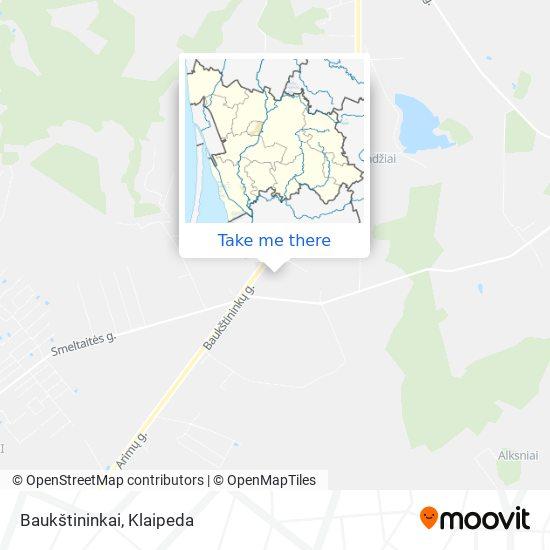 Baukštininkai map