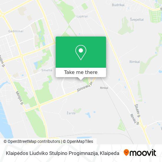 Liudviko Stulpino Pagrindinė Mokykla map