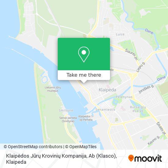 Klaipėdos Jūrų Krovinių Kompanija, Ab (Klasco) map