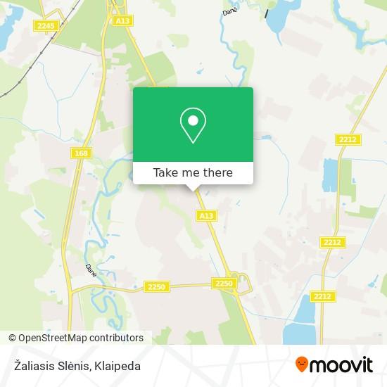 Žaliasis Slėnis map