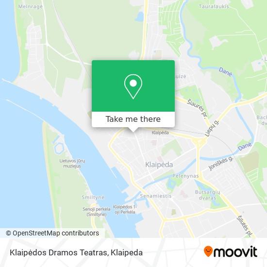 Klaipėdos Dramos Teatras map