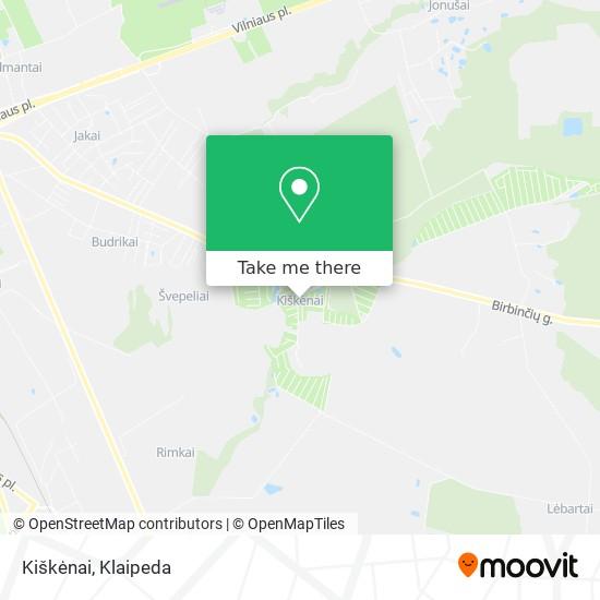 Kiškėnai map