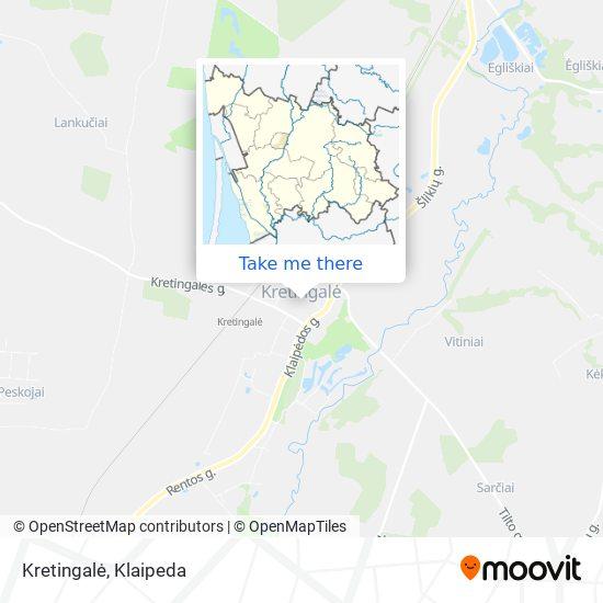 Kretingalė map