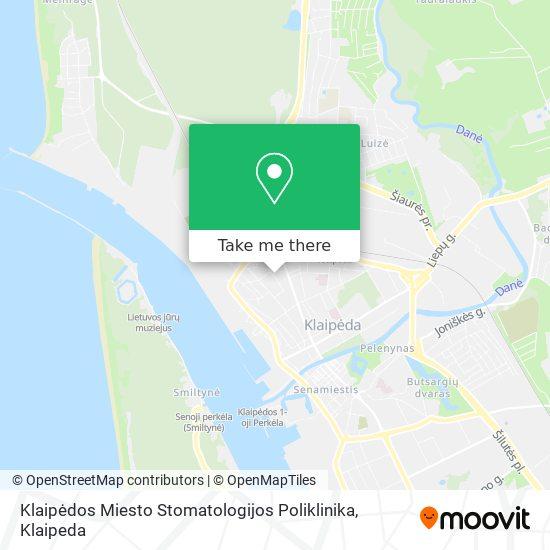 Klaipėdos Miesto Stomatologijos Poliklinika, Všį map