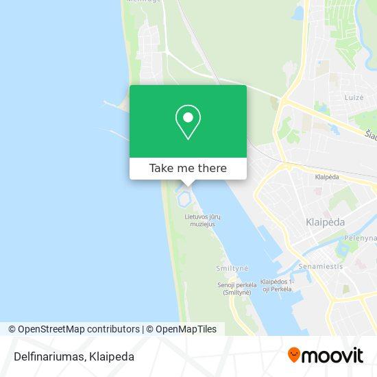 Delfinariumas map