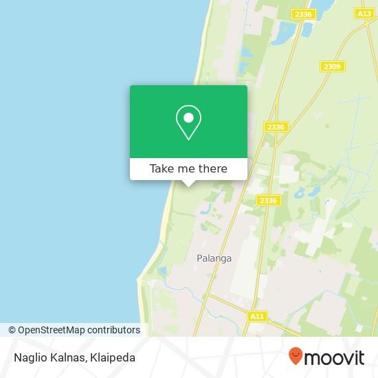 Naglio Kalnas map