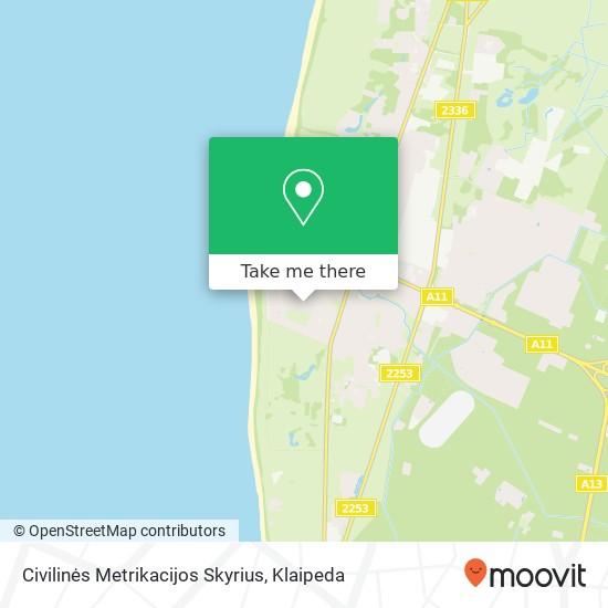 Civilinės Metrikacijos Skyrius map