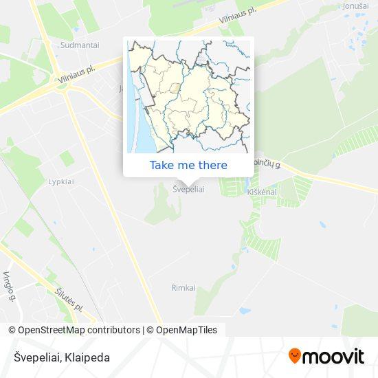 Švepeliai map