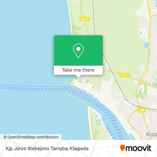 Kjp Jūros Stebėjimo Tarnyba map