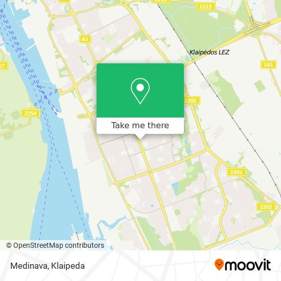 Medinava map