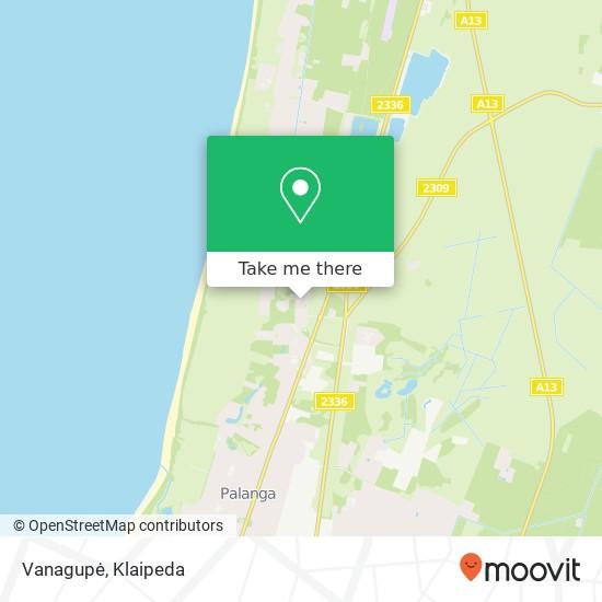 Vanagupė map