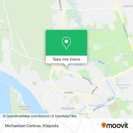 Michaelsen Centras map
