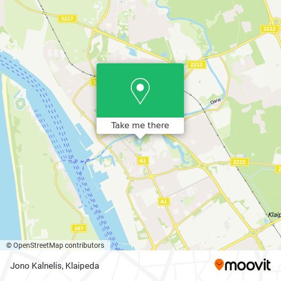 Jono Kalnelis map