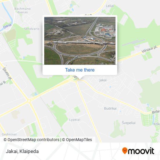Jakai map