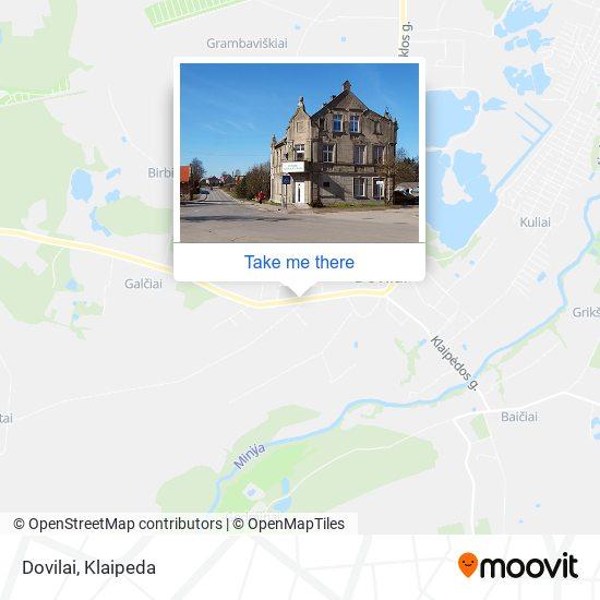 Dovilai map
