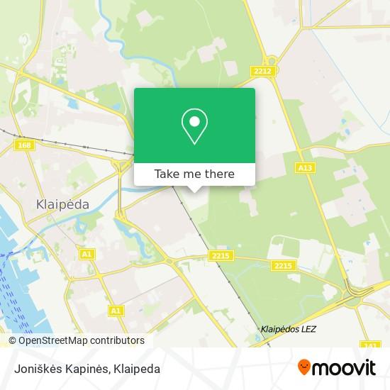 Joniškės Kapinės map