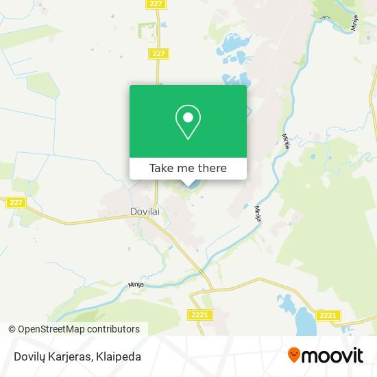 Dovilų Karjeras map
