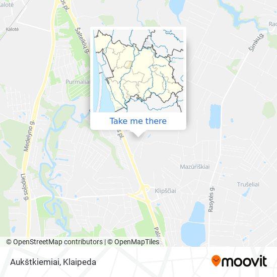 Aukštkiemiai map