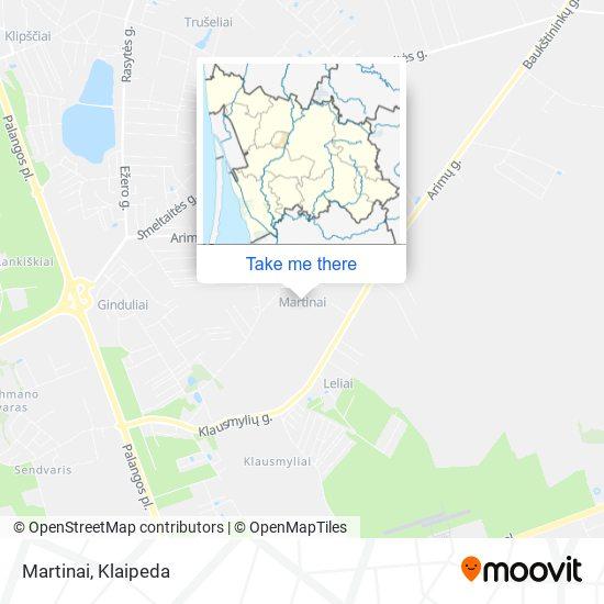 Martinai map