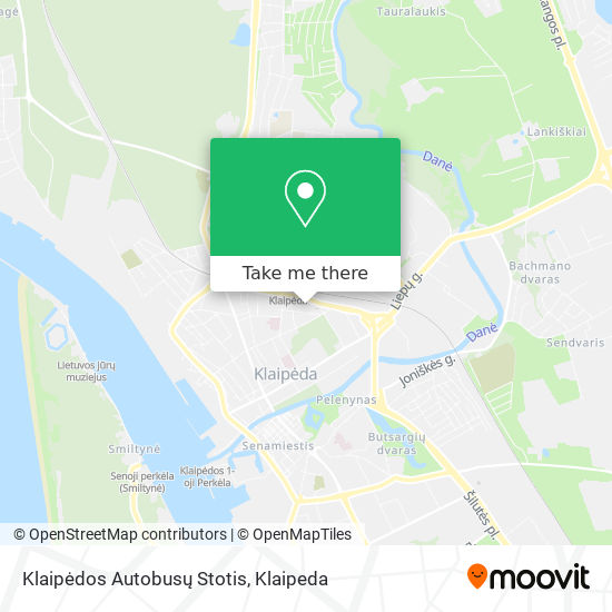 Klaipėdos Autobusų Stotis / Bus Station map