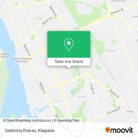 Debrecenas map