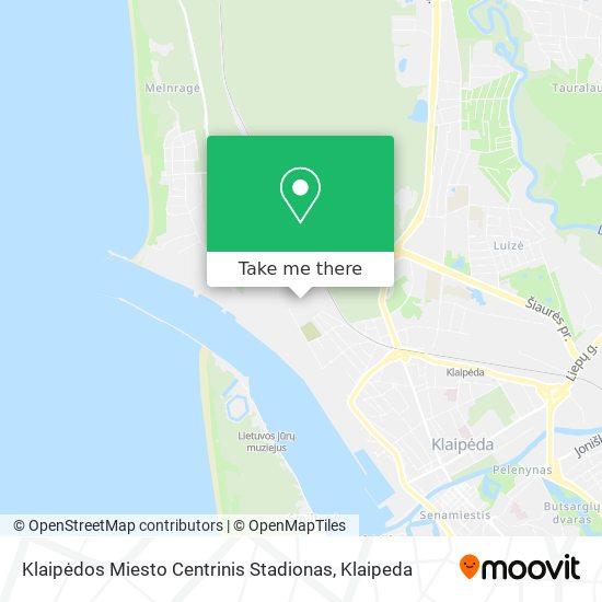 Žalgirio Stadionas map