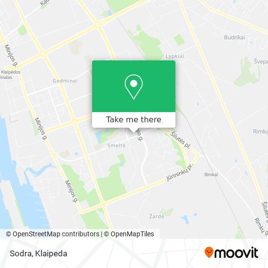 Sodra map