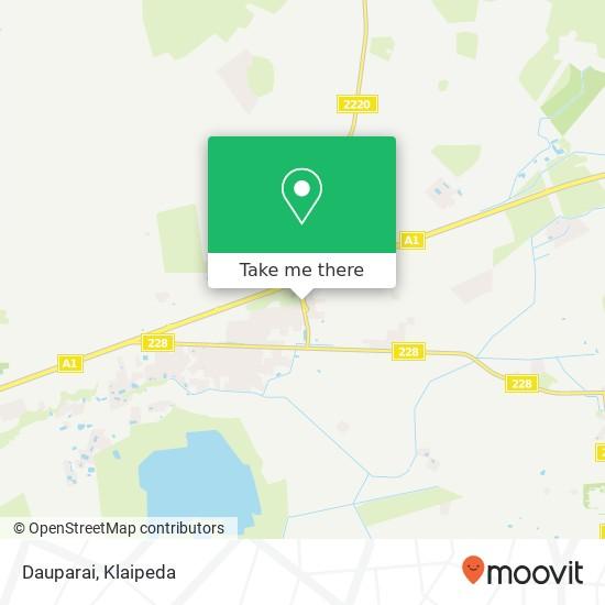 Dauparai map