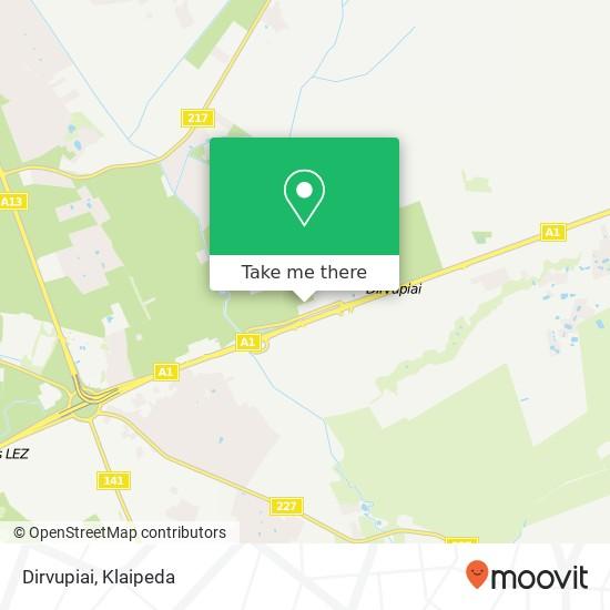 Dirvupiai map