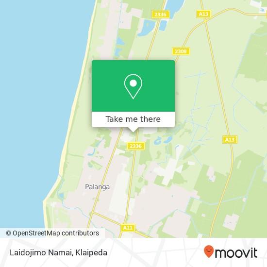Laidojimo Namai map