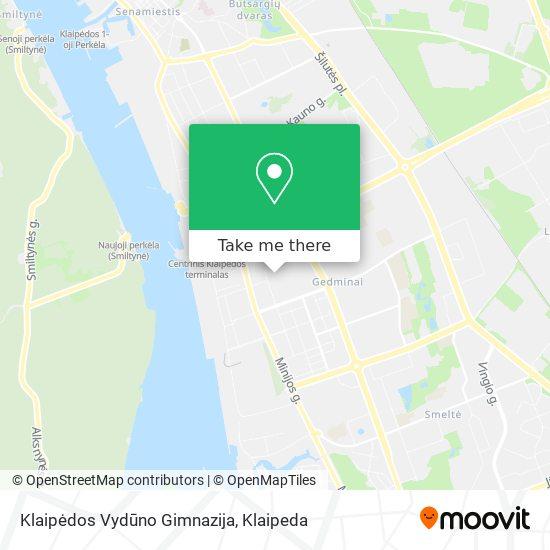 Klaipėdos Vydūno Gimnazija map