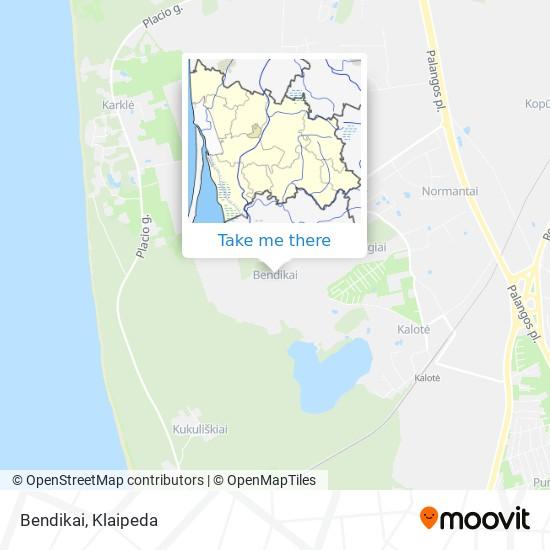 Bendikai map